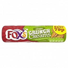 Fox's Ginger Crunch Creams 168g (12 Packs)