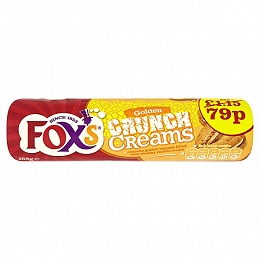 Fox's Golden Crunch Creams 168g (12 Packs)