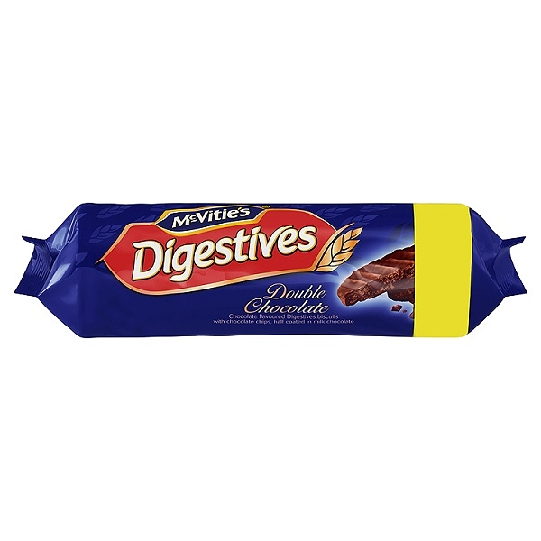 McVitie's Double Chocolate Digestives 267g (12 Packs)