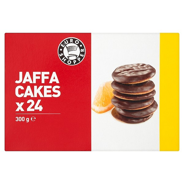 Euro Shopper 24 Jaffa Cakes 300g (20 PACKS)