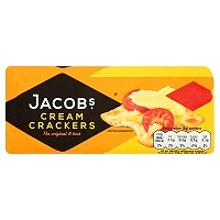 Jacob's Cream Crackers 200g (12 PACKS)