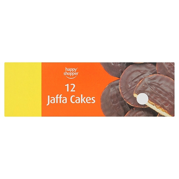 Happy Shopper 12 Jaffa Cakes(12 PACKS)