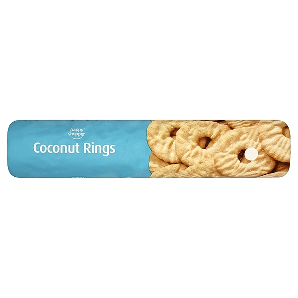 Happy Shopper Coconut Rings 300g (12 PACKS)