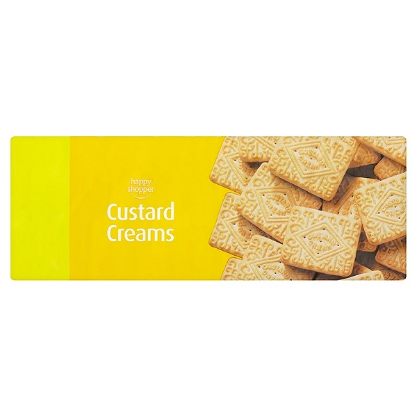 Happy Shopper Custard Creams 400g ( 12 PACKS)