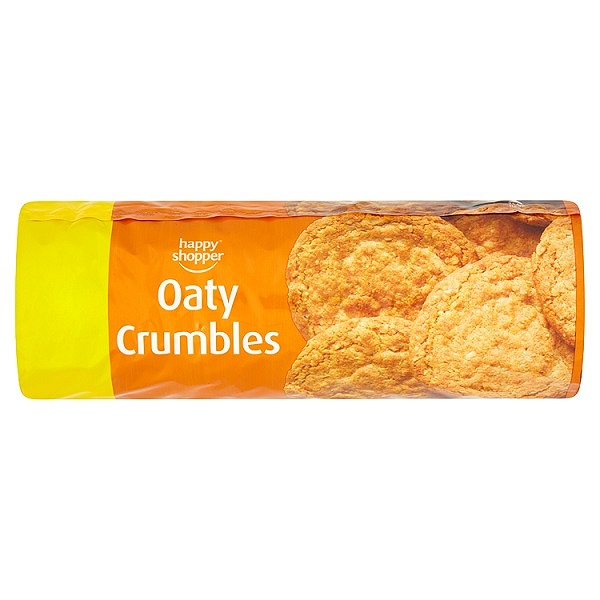 Happy Shopper Oaty Crumble Creams 200g (12 PACKS)