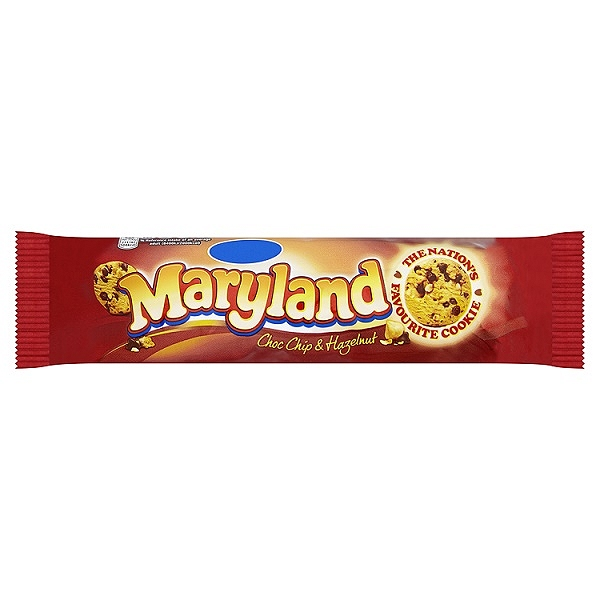 Maryland Choc Chip & Hazelnut 145g (20 Packs)