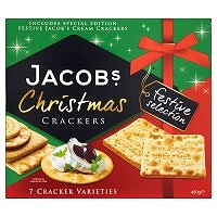 Jacob's Festive Selection Christmas Crackers 450g (6 PACKS)