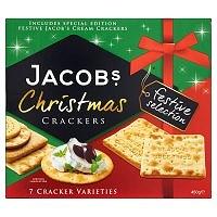 Jacob's Festive Selection Christmas Crackers 450g (6 PACKS)