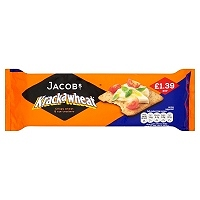 Jacob's Krackawheat Crispy Wheat & Rye Crackers 200g (12 Packs)