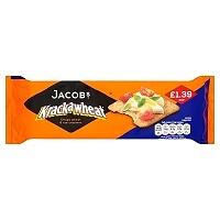 Jacob's Krackawheat Crispy Wheat & Rye Crackers 200g (12 Packs)