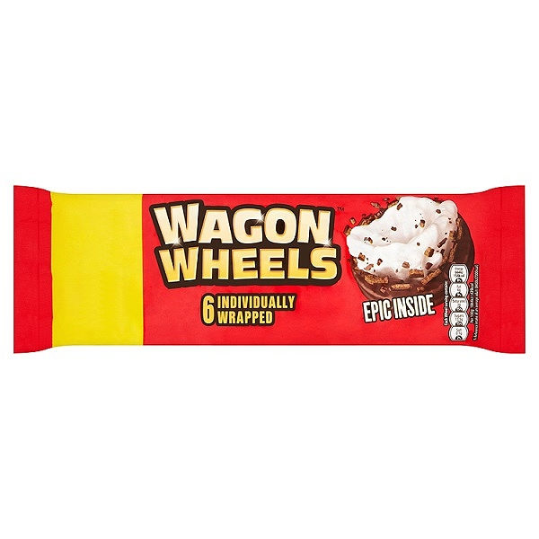 Wagon Wheels 6 Individually Wrapped (16 Packs)